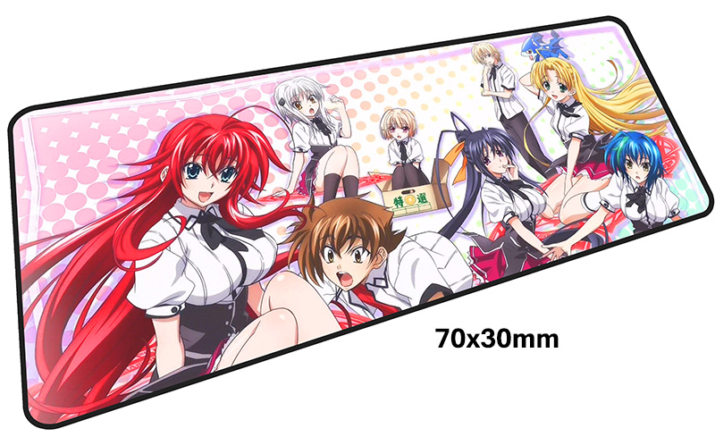 high school dxd mouse pad 700x300mm mouse mat laptop padmouse Popular notbook computer best sell gaming mousepad gamer play mats