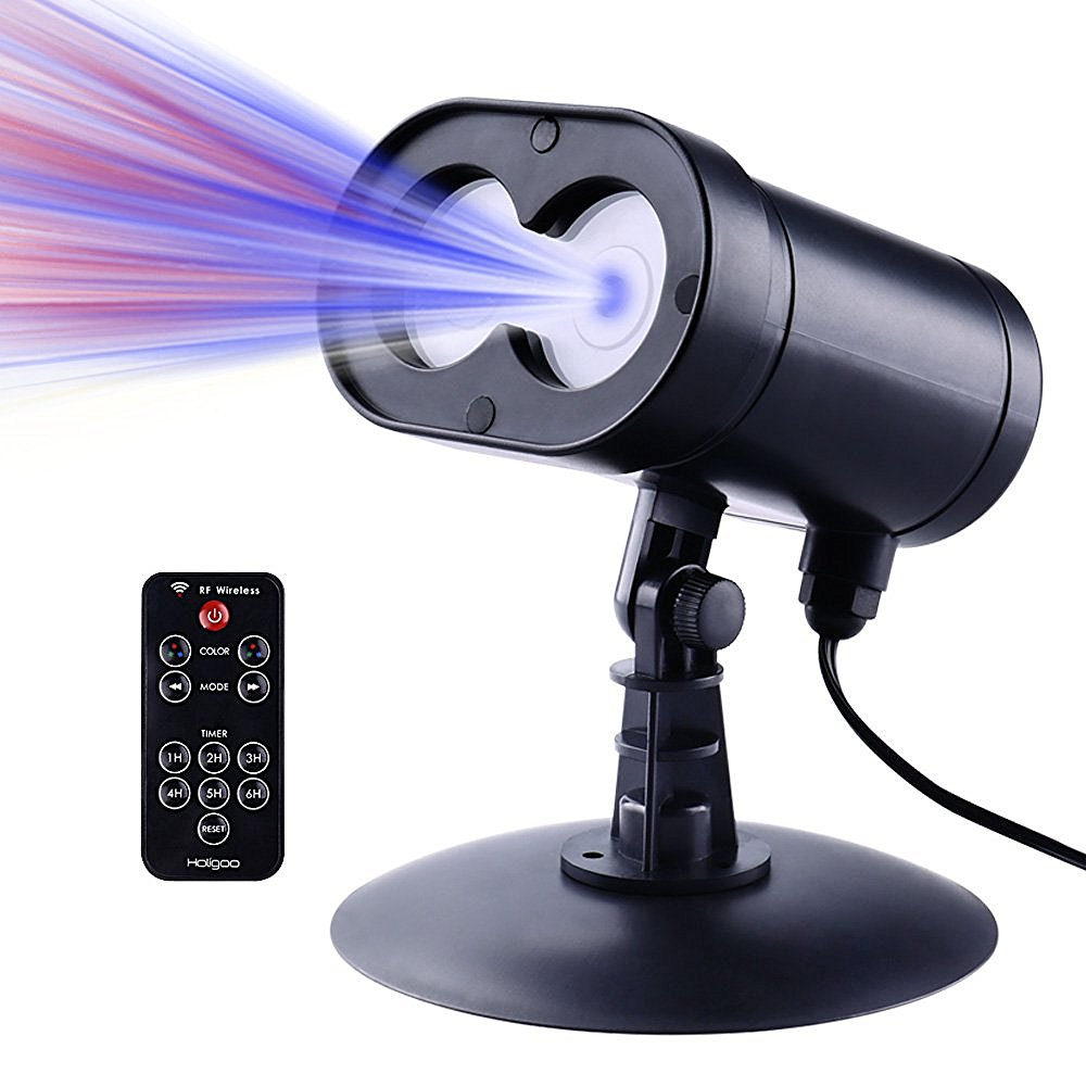 New Red And Blue Wireless Control Laser Christmas Lights Outdoor Star Projector