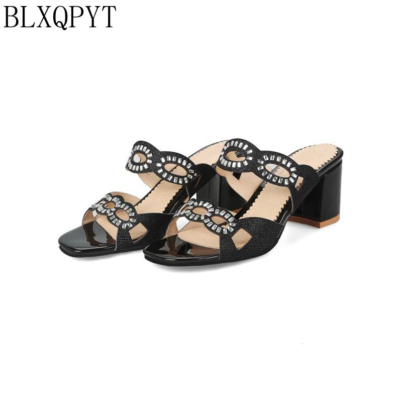 BLXQPYT Sale Special Offer Fashion Tenis Feminino Big Size 31-48 Summer Women Shoes Casual Home Beach Sandals Slippers A625-2 цена