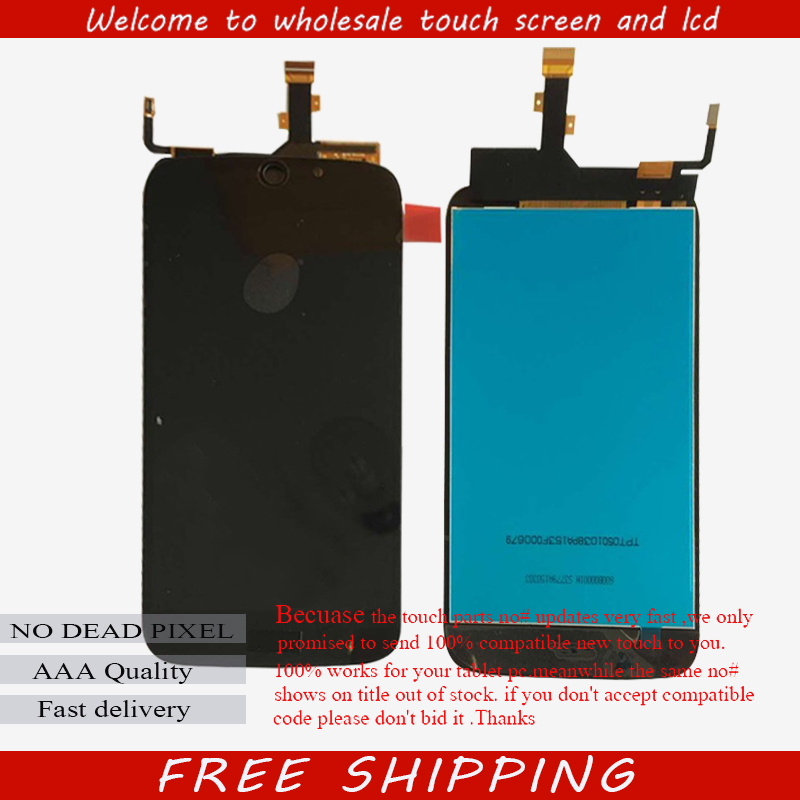 Original new LCD Display Screen +Touch digitizer For Acer Liquid Jade Z S57 white or black Free shipping wholesale price for acer liquid jade s55 lcd display digitizer touch screen for acer liquid jade lcd free shipping