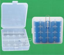 400pcs/lot New Portable Hard Plastic Battery Case Holder Storage Box Cover for 4 x 18650 Batteries