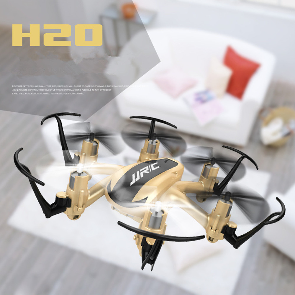 Quadcopter Drones JJRC H20 2.4G 4CH 6Axis 3D Rollover Headless Model RC Helicopter dron Remote Control Kids Toys