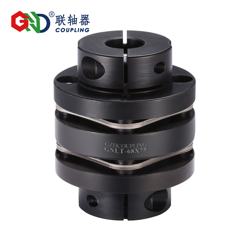 GNLT 45# Steel Stepped Double Diaphragm Clamp Series 45# Steel shaft couplings gig stainless steel parallel wire series shaft couplings d63 l71 d63 l90