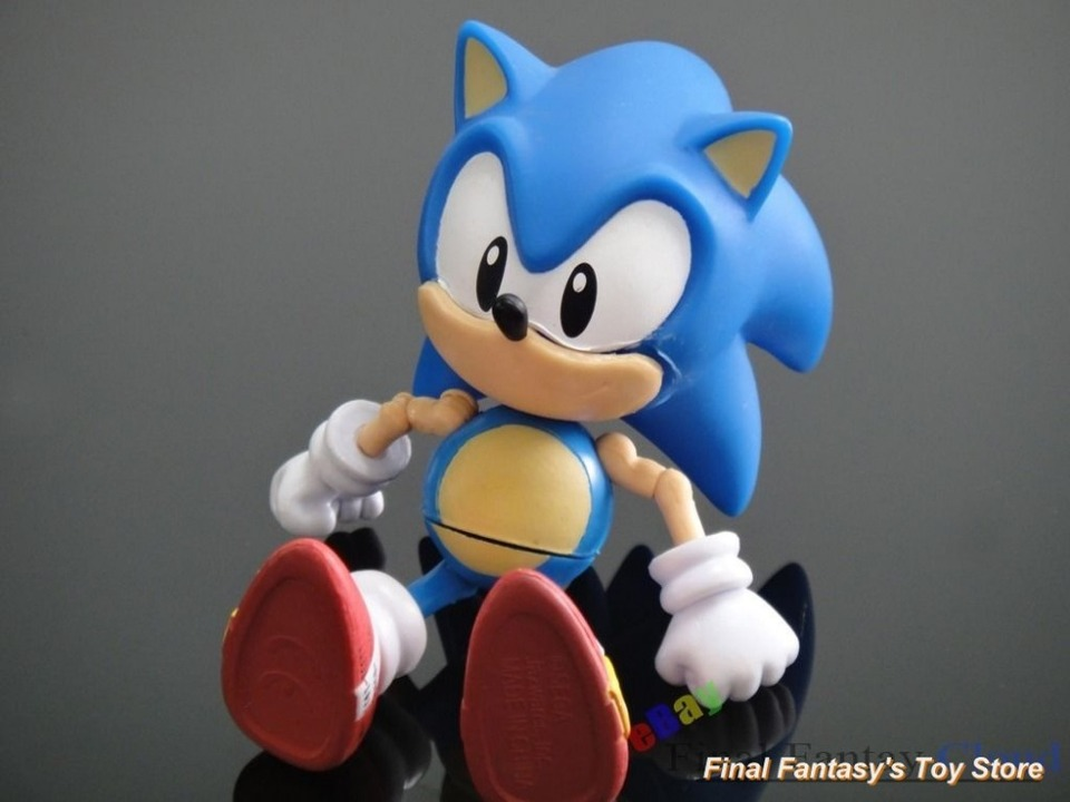 The Hedgehog Super Sonic Figure 4 3 Tall Articulated Pvc Free Shippping To Us Pvc Anime Figure Pvc Figure Animepvc Figure Aliexpress