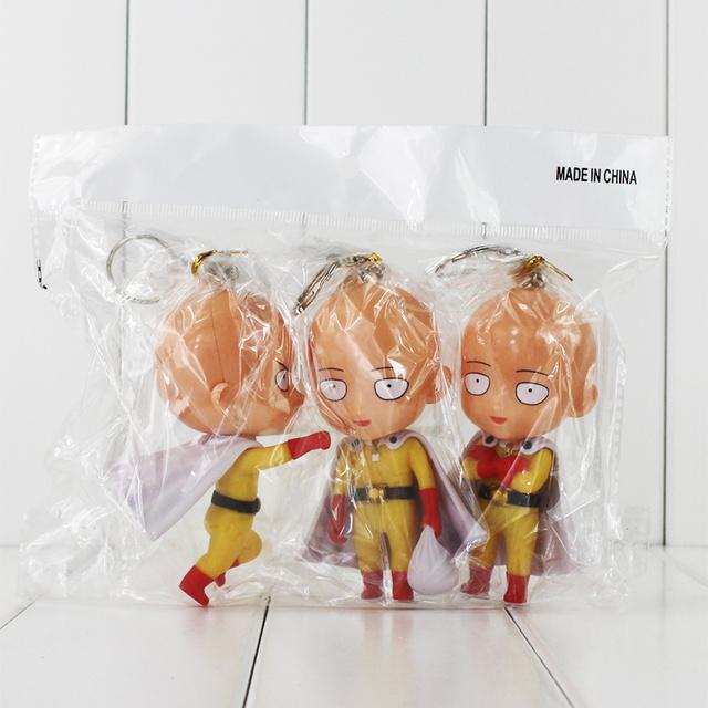 Saitama 3 pc. Set (2 Variations) One Punch Man (10 CM)