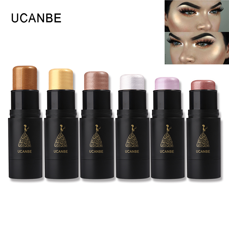 UCANBE Brand Shimmer Highlighter Stick Makeup Waterproof ...