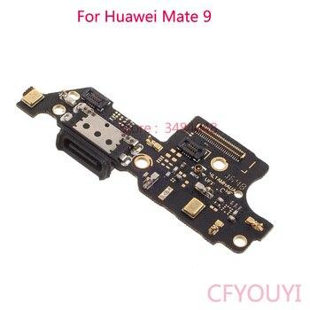 5 pçs/lote Mate9 Carregamento Porto Dock Connector Cable flex Substituir Parte Para Huawei Companheiro 9