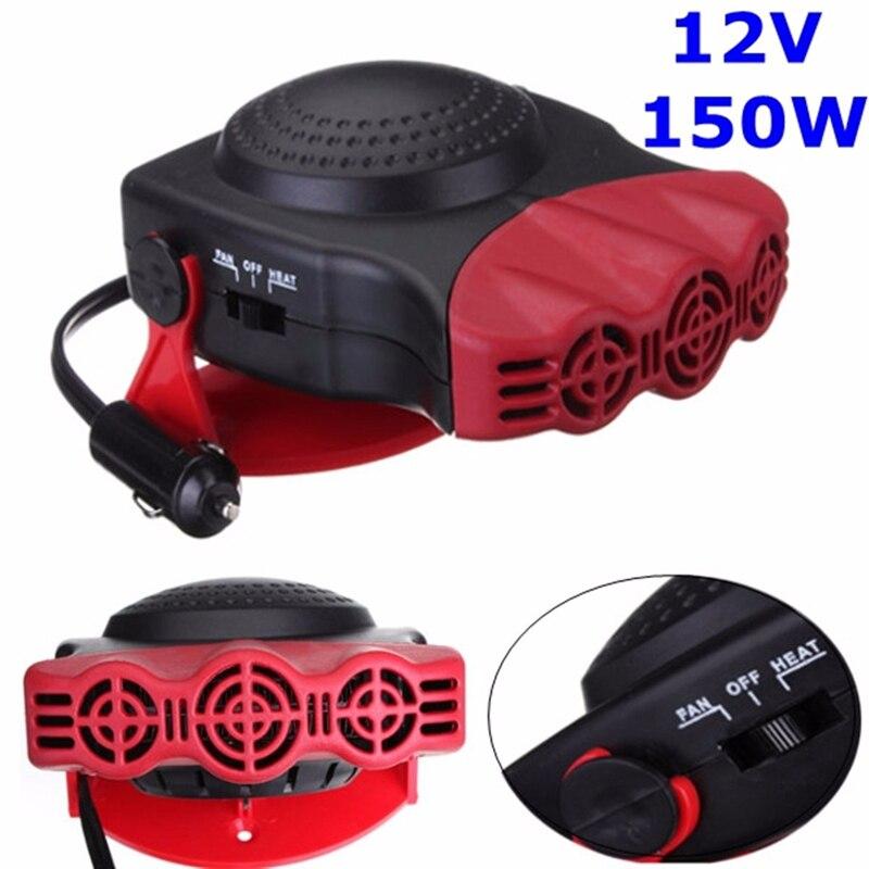 150 watt Protable Auto Auto Heizung Heizung Lüfter Windschutz Fenster Demister DEFROSTER Fahren Defroster Demister 12 v