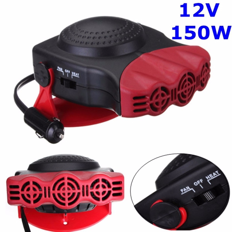 150W Protable Auto Car Heater Heating Cooling Fan Windscreen Window Demister DEFROSTER Driving Defroster Demister 12V