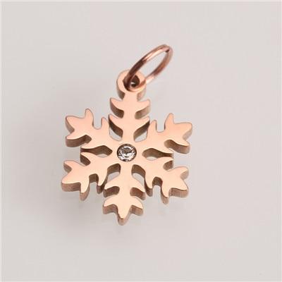Горячее предложение! Позолоченные/посеребренные подвески из нержавеющей стали, модные подвески в форме Креста в форме звезды, ювелирные изделия, сделай сам, браслет, ожерелье, аксессуары - Окраска металла: AC18266