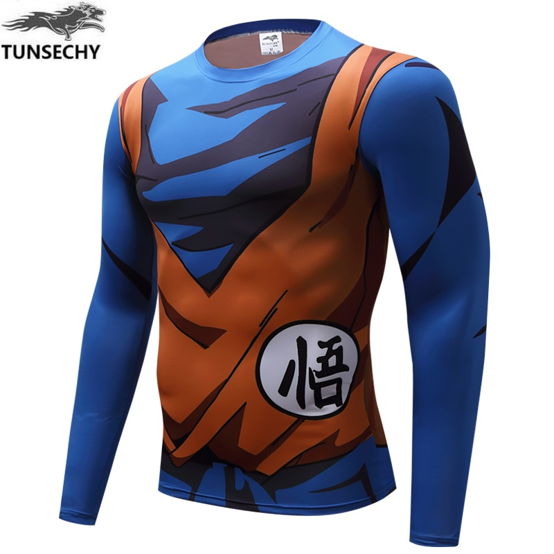 TUNSECHY New retro 2017 dragon ball men and women T-shirt lovers turtle fairy original print long sleeve T-shirt free shipping