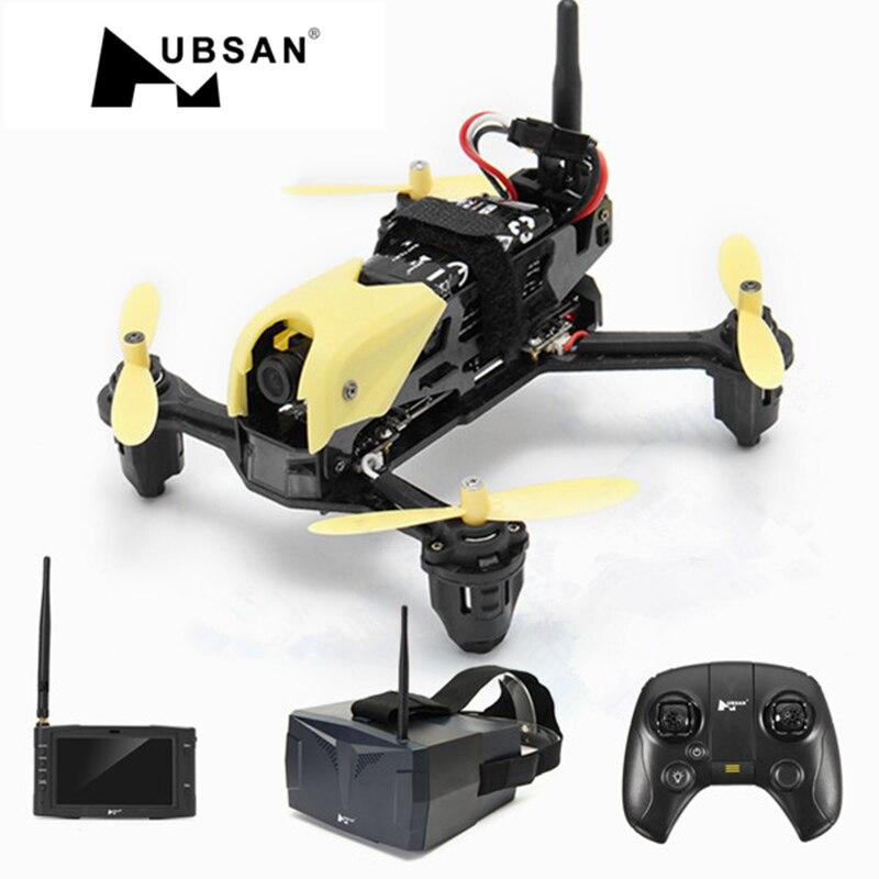 Em Estoque! H122D X4 5.8g FPV Micro Corrida RC Câmera Hubsan Zangão Quadcopter W/720 p Câmera Óculos Fatshark Compatível VS MJX B6