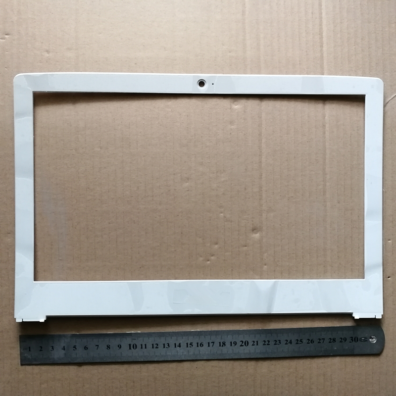 New laptop lcd front bezel cover screen frame for Acer S5-371 AP1JL000210 white