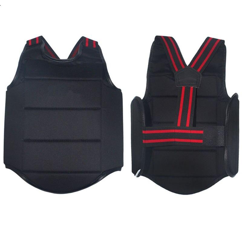 YS02 Adult Child Taekwondo Karate Chest Guard Vest Boxing Karate Breast Protector Karate Chest Protection Equipment
