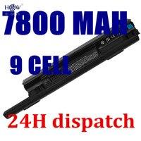 HSW 7800 mAH Batterie Pour dell Studio XPS 13 1340 312-0773 P891C T555C 0P891C 0T555C 312-0773 PP17S R437C T555C T561C W004C