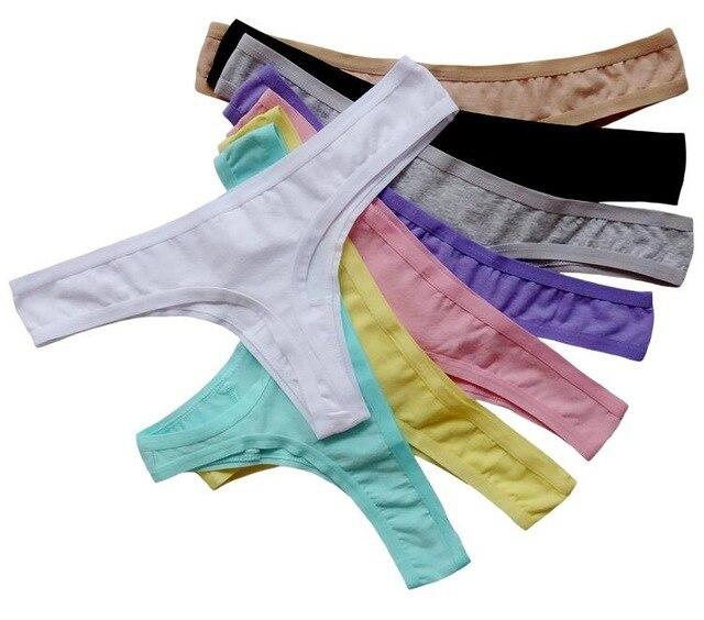 Plus la Taille XL XXL Coton Sexy String Sous-Vêtements Femmes G-String  Culottes ed4d50e96d6