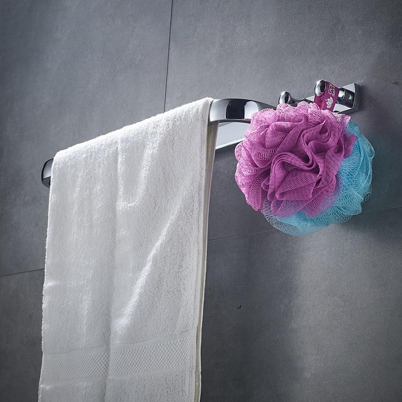 Towel Rack Bathroom Hardware Towel Shelf Chrome CopperTowel Bar Paper Holder Cloth Hook Cloth 81cp series chrome polished porcelain bathroom accessories bath hardware towel shelf towel bar paper holder cloth hook