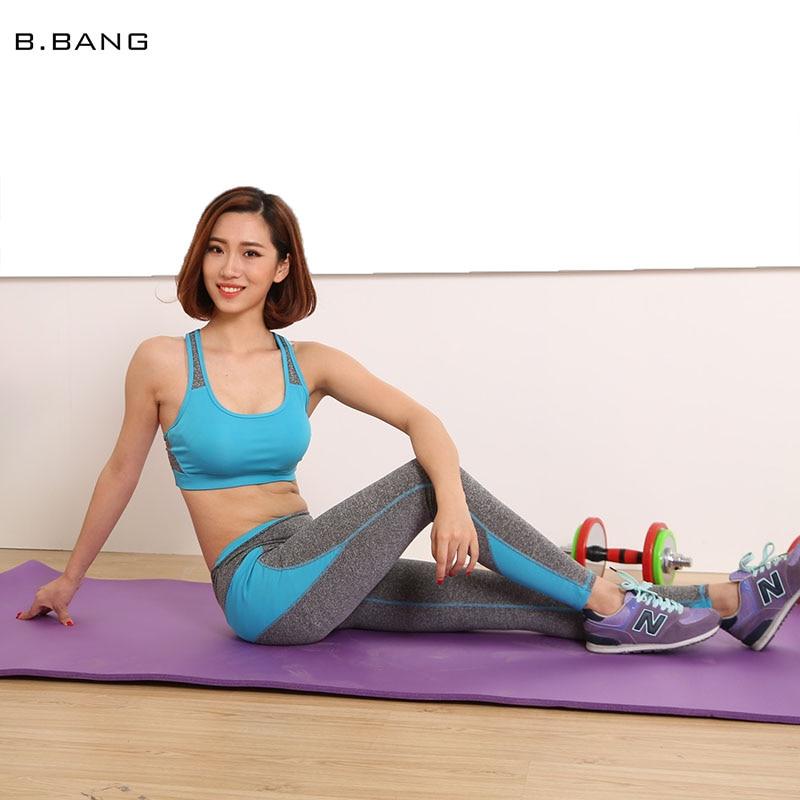 Fitness Clothes Buy Online: Aliexpress.com : Buy B.BANG 2017 Women Yoga Sets Patchwork