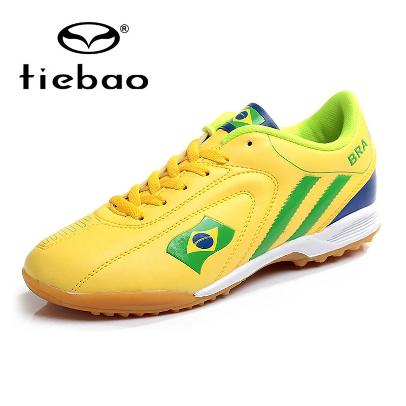 f00ad3aef14d TIEBAO Professional Outdoor Soccer Shoes Men Women TF Turf Sole Football  Boots National Flag Adults Athletic Training Shoes