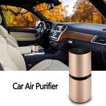 Car Electronics Portable Car Air Purifier USB Air Humidifier Aromatherapy Air Filter Oxygen Bar Auto Car Diffuser Air Freshener air purifier freshener oxygen bar filter for car 12 24v