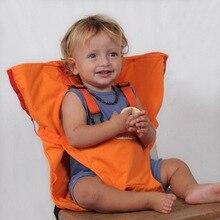 Новые товары для мамы и ребенка, портативная складная сумка для детского обеденного стула, пояс безопасности для ребенка, чистый цвет, пояс для еды