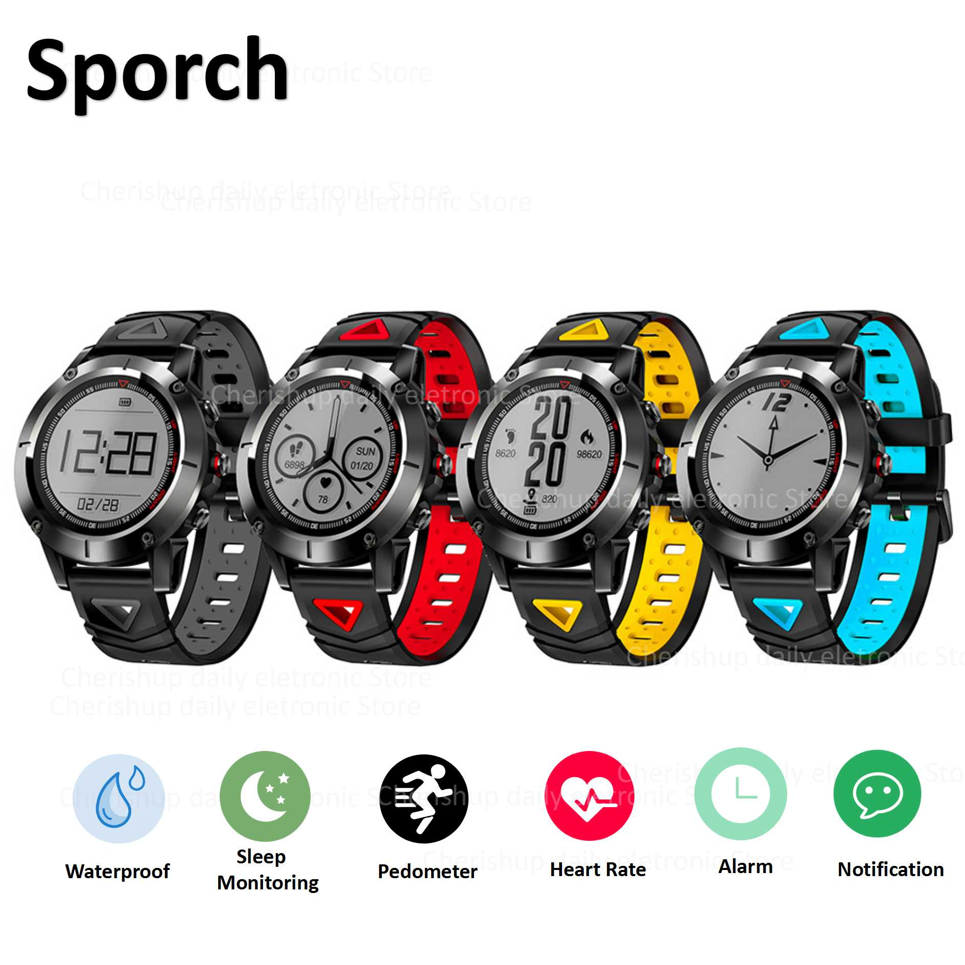 G01 GPS Smart Watch Men IP68 Waterproof Heart Rate Monitor Bluetooth Wristwatch Sports Compass Smartwatch for Android IOS volemer gps smart watch ip68 waterproof sports heart rate monitor bluetooth wristband oxygen compass smartwatch for android ios