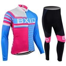 2017 nueva llegada mujeres bxio equipamentos de ciclismo jersey transpirable bicicletas bike jerseys de manga larga ciclismo 013