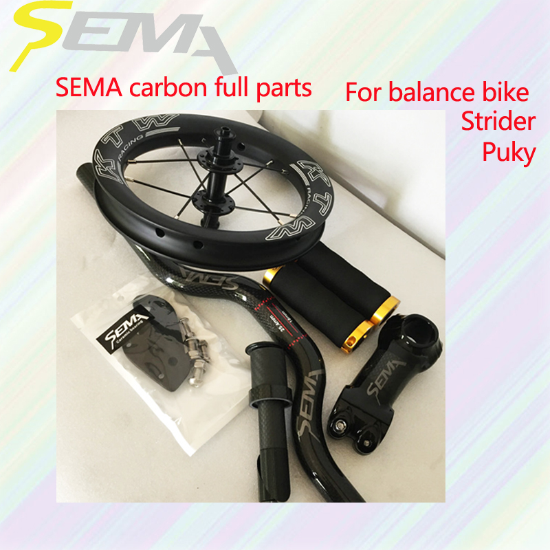 SEMA Hot sale arbon parts for childs balance bike titanium screw carbon stem tube and washer carbon handlebar best wheelsetSEMA Hot sale arbon parts for childs balance bike titanium screw carbon stem tube and washer carbon handlebar best wheelset