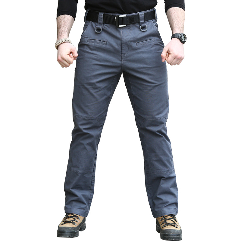 CQB Outdoor Pants TAD Military Tactical Cotton Trousers Men Combat Hiking Pants Army Training Hunting Climbing Overalls LKZ0015