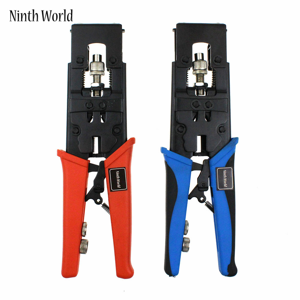 Ninth World Multifunction RG58 RG59 RG6 F BNC RCA Coax Compression Connector Adjustable Tool Wire Cutter ...