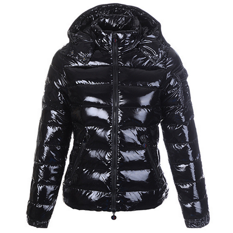 Wholesale High Quality Women Jackets Outwear Black Mother Clothing 80% White Duck Down Coats Hooded Ladies Goose Down Jacket