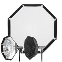 """Godox AD-S7 Multi складной сетка восьмиугольная Softbox 18 """"для AD200 AD360 AD360II Godox S7 48 см Портативный складная Octagon фотографии"""