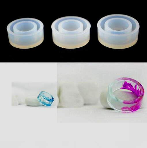 New Fashion Doreen Beads DIY Cabochon Women Men party ring Bracelet Jewelry tools Mould Making Silicone Resin Casting Mold gift