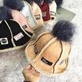 2016 Otoño Invierno Nueva Marea CamoFleece Sombreros Calientes Para Mujer Bola de Pelo gruesa Gamuza Pescador Del Sombrero Del Cubo Sombreros Para Hombres Mujeres Beanie