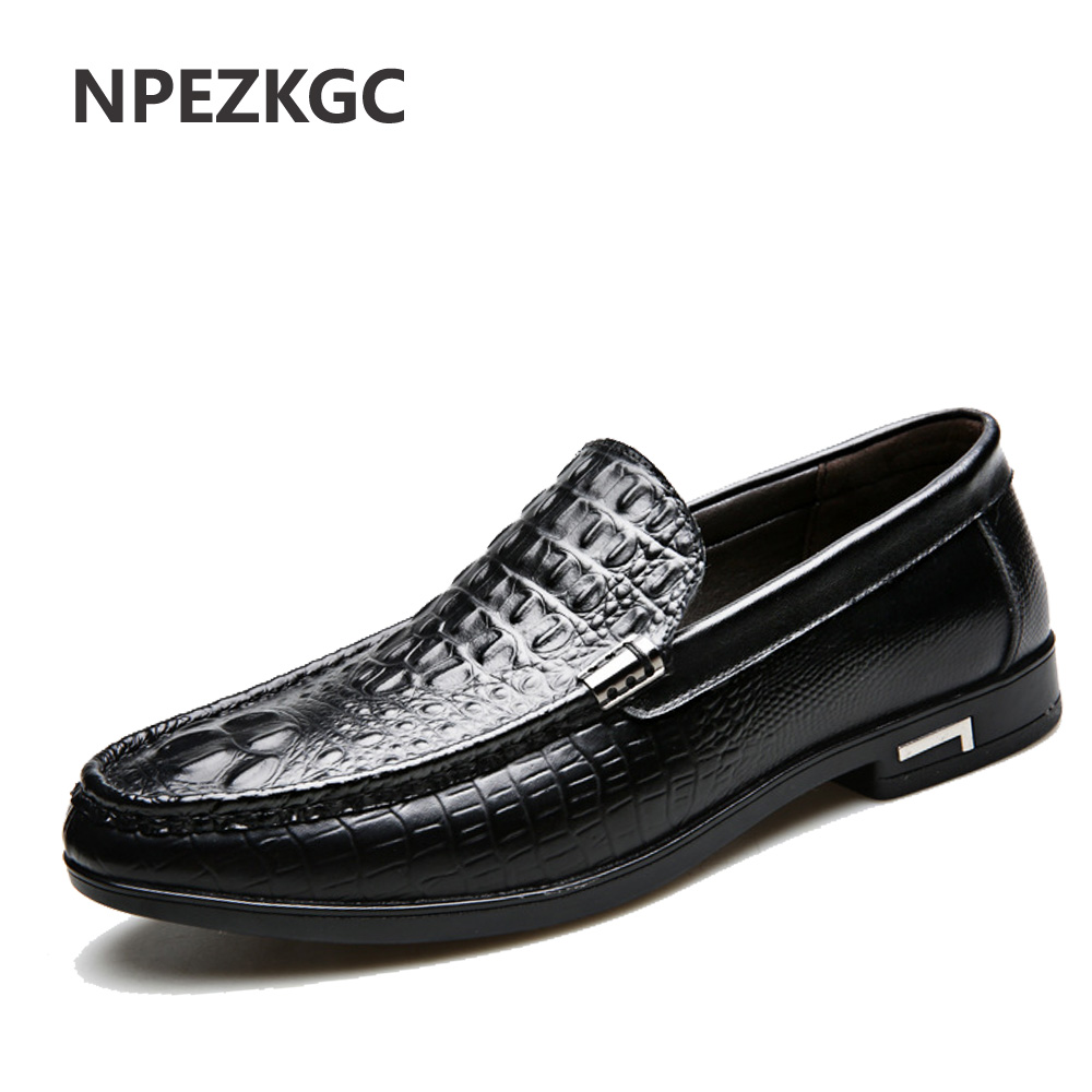 NPEZKGC Fashion Casual Driving Shoes Genuine Leather Loafers Business Men Shoes Men Loafers Luxury Flats Shoes Men fashion casual driving shoes genuine leather loafers men shoes 2016 new men loafers luxury brand flats shoes men chaussure page 5