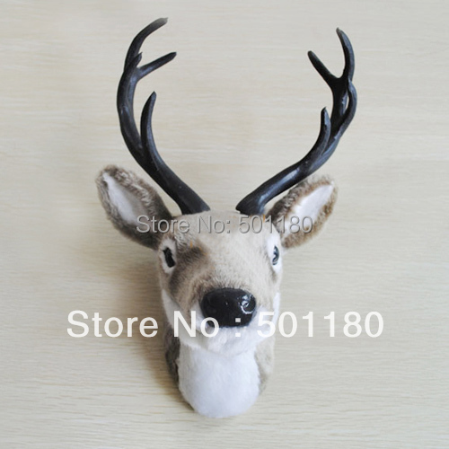 Free Delivery Wall Decor Deer Head For Dwelling Decoration And Wall Ornament