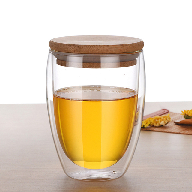 Creative Universal Double-Walled Eco-Friendly Mug