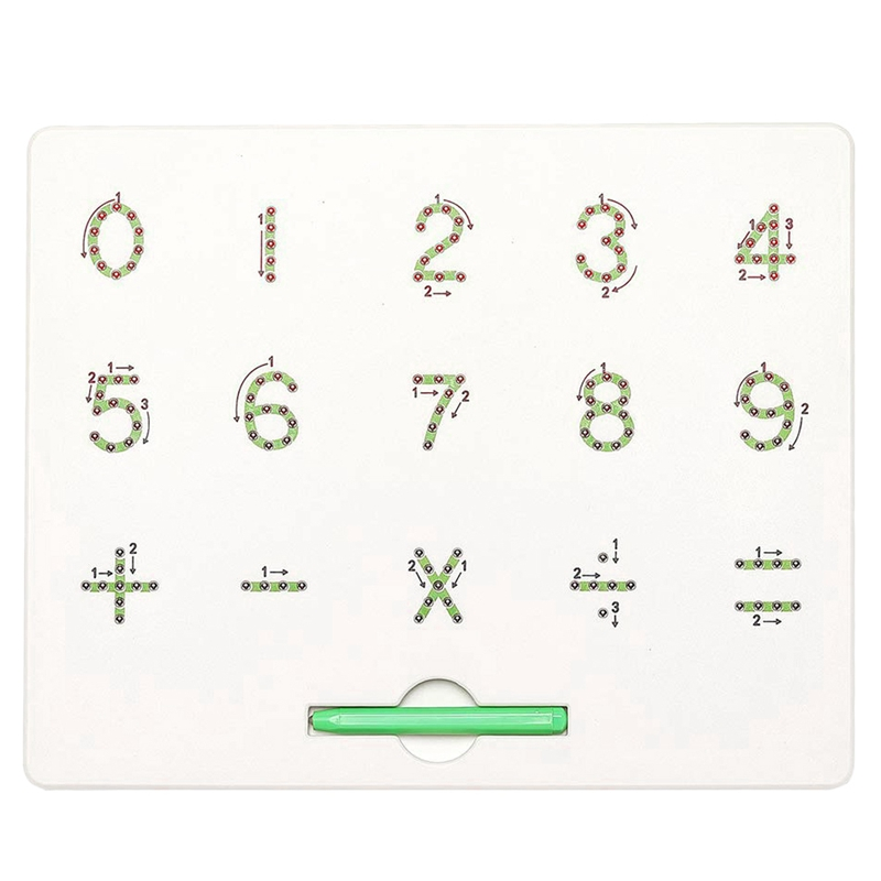 0 To 9 Number Magnet Board For Kids Educational Toy Magnetic Balls Tablet in Drawing Toys from Toys Hobbies