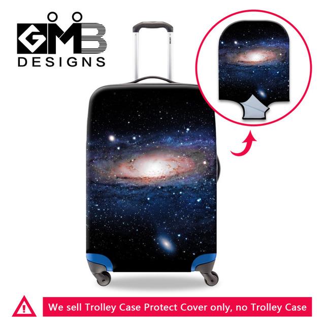 Estrela galáxia Universo Bagagem Capa Protetora Para 18-30 polegada de Viagem Da Bagagem Do Trole Mala Elástica À Prova D' Água Proteja Capa