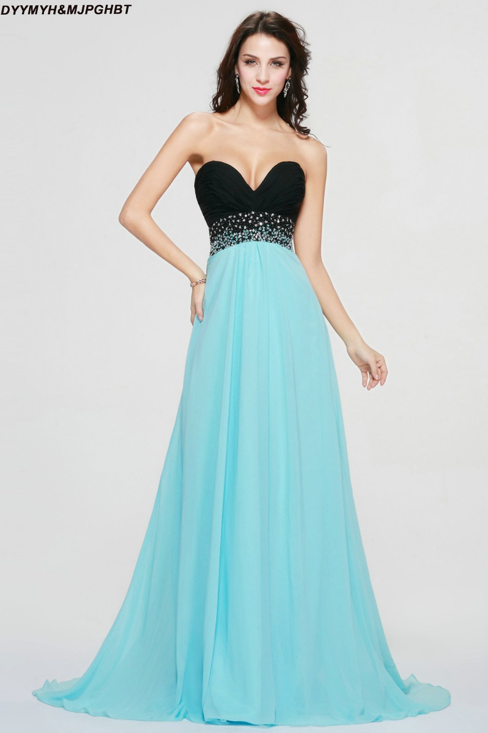 Popular Evening Gowns Blue-Buy Cheap Evening Gowns Blue lots from ...