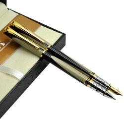 Pióro wieczne lub żel pióro kulkowe złoty Chrome Kaigelu 220 standardowy długopis biurowe i szkolne biurowe darmowa wysyłka w Pióra wieczne od Artykuły biurowe i szkolne na