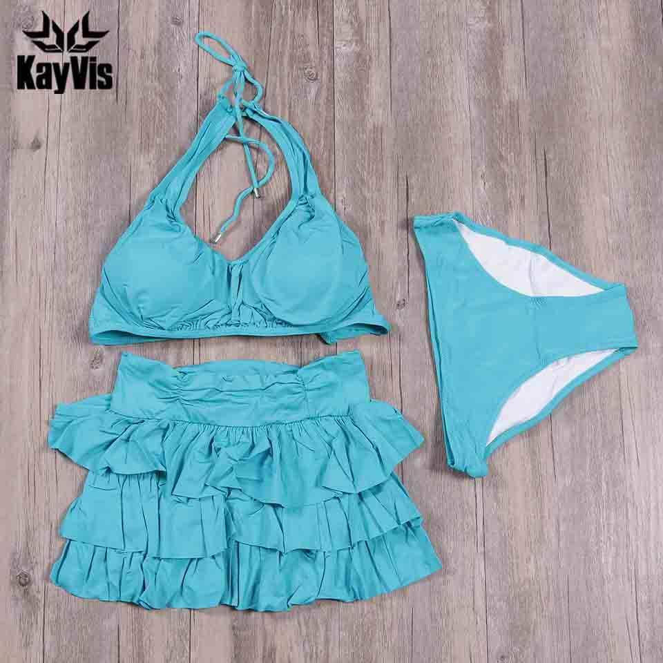 KayVis 2019 новый сексуальный купальный костюм винтажный купальник женский бразильский комплект бикини пляжная одежда, платье купальный костюм