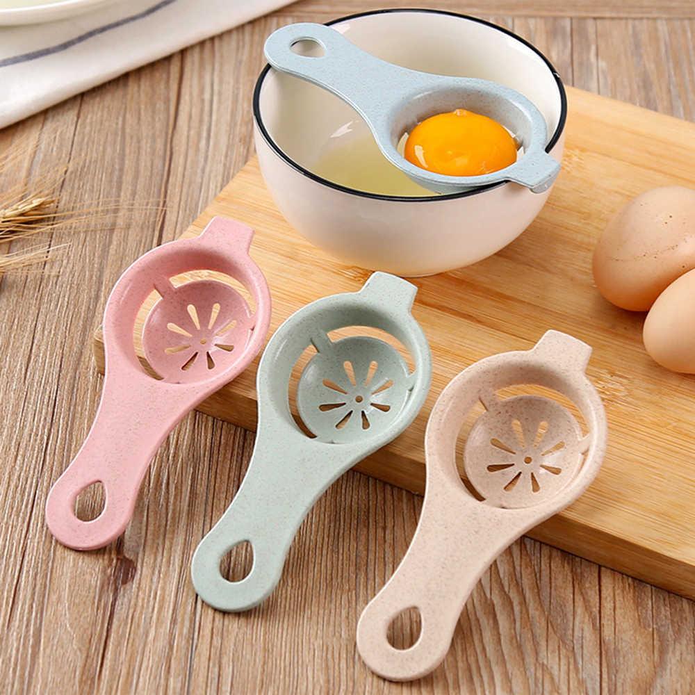 Grau alimentício ovo gema separador de proteína separação ferramenta cozinha do agregado familiar cozinhar ovo ferramentas durável ovo divisor gadgets cozinha