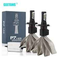 GEETANS 60W 9600lm H4 H7 LED H8/H11 HB3/9005 HB4/9006 H1 H3 araba far otomatik ampul otomobil far araba LED ışık lamba G