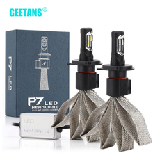 Geetans 60W 9600lm H4 H7 Led H8/H11 HB3/9005 HB4/9006 H1 H3 Auto Koplamp auto Lamp Auto Koplamp Auto Led Licht Lamp G