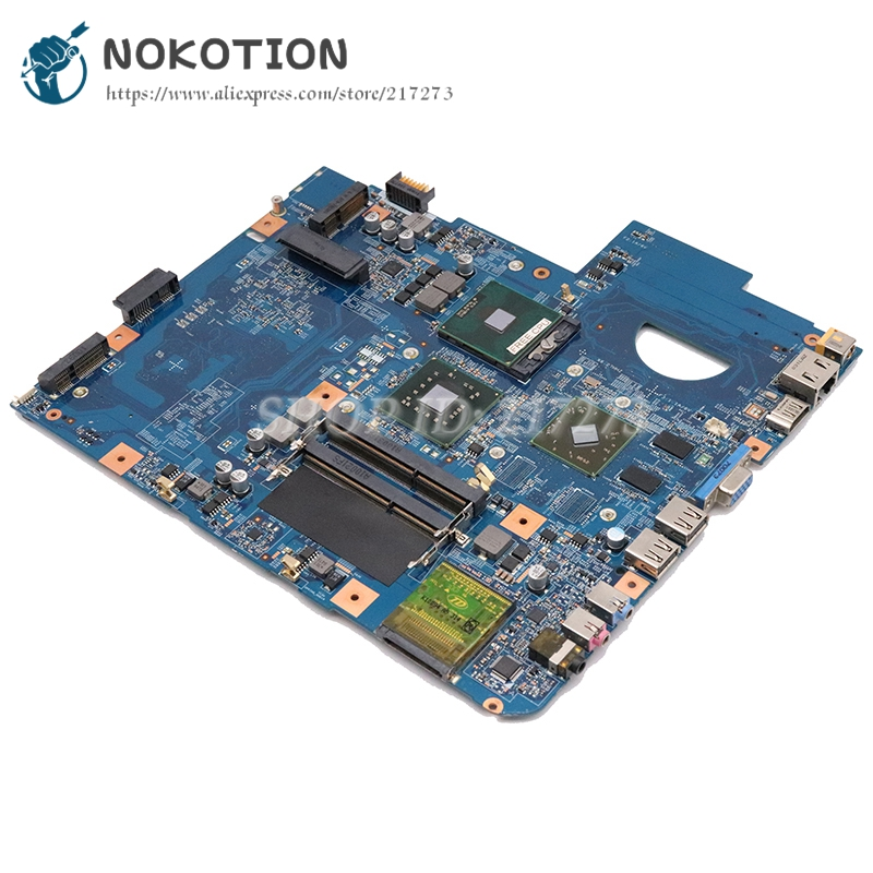 NOKOTION JV50-MV M96 48.4CG10.011 For Acer ASPIRE 5738 Laptop Motherboard DDR3 HD 5000 Graphics Free Cpu