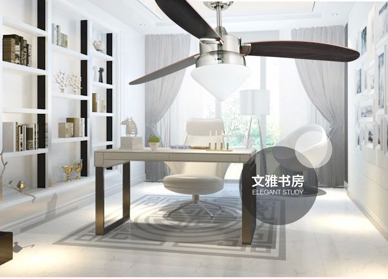 Ceiling Fans Ceiling Lights & Fans Reasonable Led Ceiling Fan Light Dining Room Living Room American Minimalist Modern Ceiling Fan Light