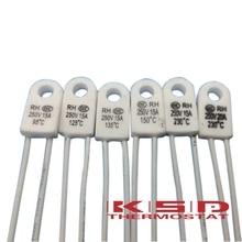5 шт. RH/Tf RH 135C RH 135 Цельсия 13 5 градусов RH135 15A 250 В температурный предохранитель тепловые звенья защита от перегрева