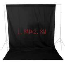 ASHANKS Photography Backdrops Black Screen 1.8*2.8m Photo Background for Photo Studio 6FT*9FT Backdrop for Camera Fotografica