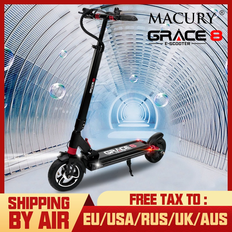 Macury Grace 8 Electric Scooter Hoverboard 2 Wheel 8 Inch 36V 350W 48V 52V 500W Adult